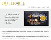 Queen Bee Hospitality Marketing | Web Design