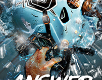 Answer The Bell Football Helmet Poster