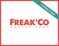 Freak'Co.® Coffee Shop Branding