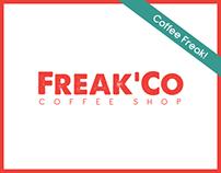 Freak'Co.® Coffee Shop Branding