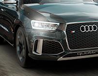 Audi Q3 CGI