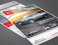 ZNA Automobile (Leaflet Design)