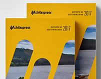 Reporte de Sustentabilidad Chilexpress 2017