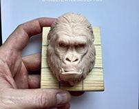 Gorilla face