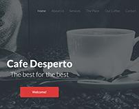 Cafe Desperto Project