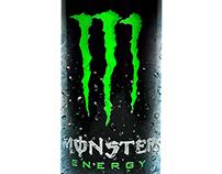 MONSTER ENERGY (Unleash the beast)
