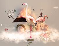 Flamingo land - Desktopography 2016