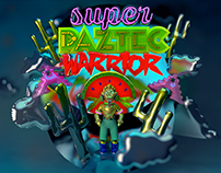 SUPER PAZTEC WARRIOR - based on a terrible French Pun.