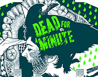 DEAD FOR A MINUTE - K7 artwork + vynil