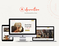 Avventure - Personal Travel & Lifestyle Blog WP Theme