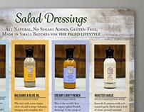 Artisan Foodie Sales Sheets