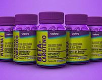 Vitamin Supplements Vidora • Package