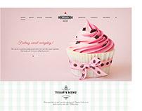 Minnie's Cupcake Website