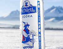 "Bottle for ""Goral Traditional vodka"" by DanCo Decor"