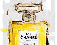 Chanel No.5 Digital Painting