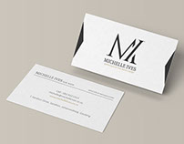 Michelle Ives - Logo & Stationery Design