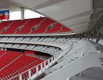 Canopies palcos Estadio Chivas