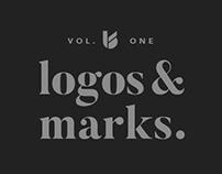 logos & marks. vol. 1