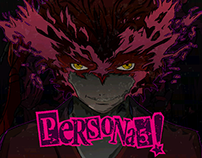 Persona 5 Retro Art