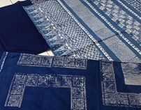 Batik + Indigo en Java, Indonesia
