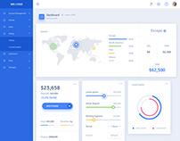 Worldwide Group Customer Portal -Dashboard