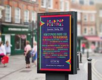 Readipop Festival 2016 Poster & Branding