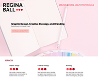 HTML5/CSS Personal Brand Site