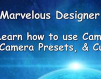 Marvelous Designer 7 Tutorial: Cameras & Custom Views