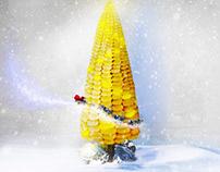 Christmas corn