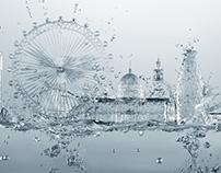 London Waterskyline