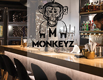 Branding for Monkeyz All day cafe bar