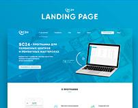 Landing page - Service app | Web & UI design