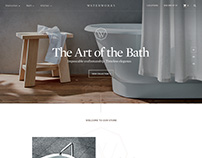 Waterworks.com - Website Redesign Concepts.
