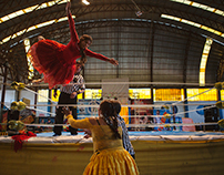 Cholita's Wrestling, Bolivia