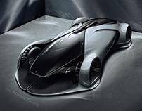 Porsche-X Future concept