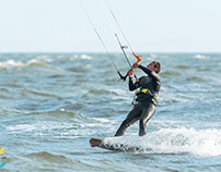Kite Surfer - Brighton Beach