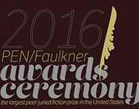 PEN/Faulkner Awards poster