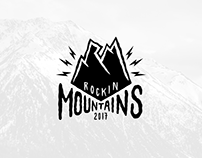 Rockin'Mountains branding