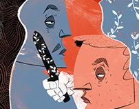 AKLIMDA NALAN (illustration for Masa Dergi)