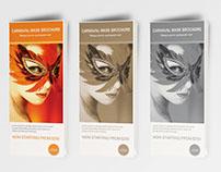 Carnaval mask Brochure