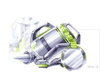 Home appliances sketches