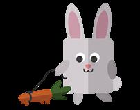 Bunnies Sticker Pack