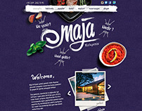 Maja Web Page Design