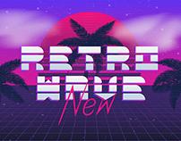 Retro neon logo collection. + (9 free logo)