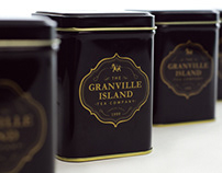 The Granville Island Tea Co. Rebranding and Packaging