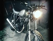 REVENGE CYCLES // SUZUKI GN 125