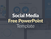FREE POWERPOINT TEMPLATE - SOCIAL MEDIA PRESENTATION