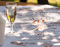 Tea-towel: The Wedding Invitation