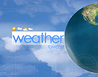 Vizrt Weather Opener for Kurdsat 1 News.