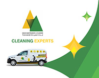Brochure Design - Cleaning Services